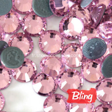 Bling Bling Hot-Fix Strass Rose clair